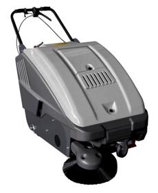 Obrázek Zametací stroj bateriový SW 2600 BT - FASA