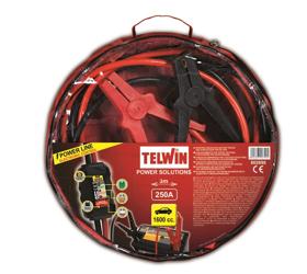 Obrázek Startovací kabely 250 A s testerem Telwin