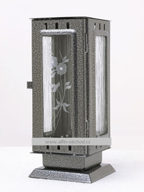 Obrázek Svítilna na postavení na hrob standart starostříbro
