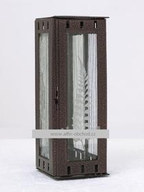Obrázek Svítilna na pomník závěsná mini - staroměď