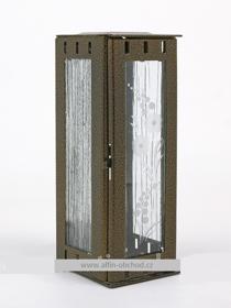 Obrázek Svítilna na pomník závěsná mini - starozlato