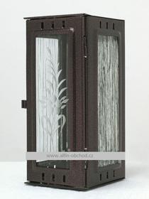 Obrázek Svítilna na pomník závěsná malá - staroměď