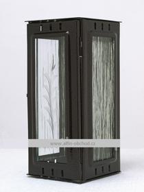 Obrázek Svítilna na pomník závěsná malá - starozlato