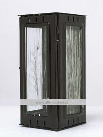 Obrázek Svítilna na pomník závěsná velká  - starozlato
