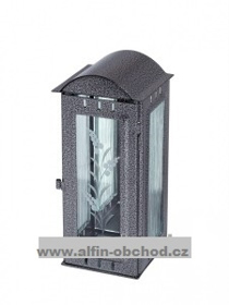 Obrázek Svítilna na pomník závěsná velká oblá střecha - starostříbro
