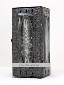 Obrázek Svítilna na pomník závěsná velká výstřih ovál - starostříbro