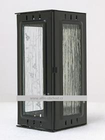 Obrázek Svítilna na pomník závěsná velká černá