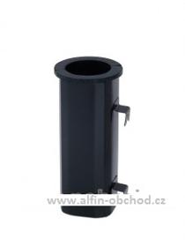 Obrázek Váza čtyřboká závěsná černá