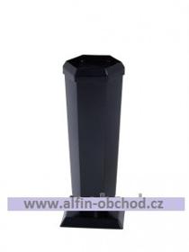 Obrázek Váza na postavení kónická velká černá