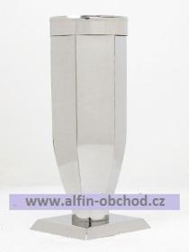 Obrázek Váza na pomník zaoblená s kroužkem