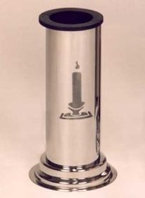 Obrázek Váza kulatá se svíčkou na postavení