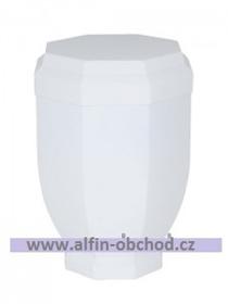 Obrázek Pohřební urna bílá