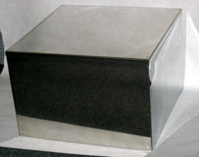 Obrázek Schránka na 4 urny nerezová