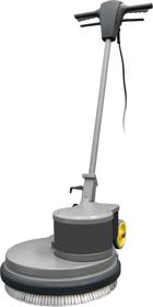 Obrázek Mycí a leštící stroj na podlahu ODM-R 45G 16-180 Fasa
