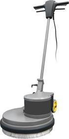 Obrázek Mycí a leštící stroj na podlahu ODM-R 45G 40-160 Fasa