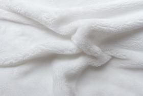 Obrázek Prostěradlo mikroflanel bílé 90x200x20 cm