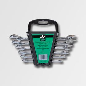 Obrázek Sada plochých klíčů 6-17 mm 6 dílů chrom