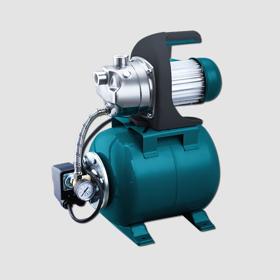 Obrázek Elektrické proudové čerpadlo s tlakovou nádobou 1200W INOX
