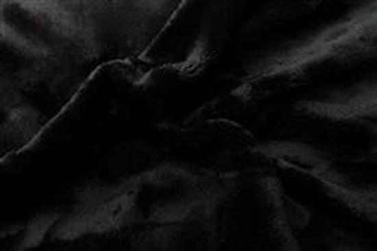 Obrázek z Prostěradlo mikroflanel černá