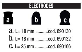 Obrázek Elektrody Inverspotter 140000