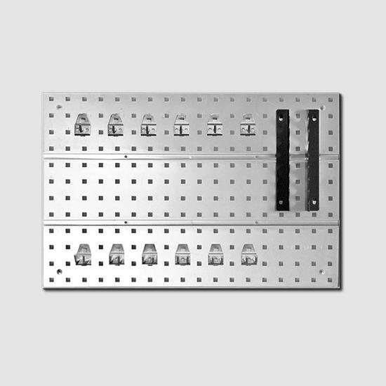Obrázek z Závěsná stěna s držáky 1 díl 575x385mm