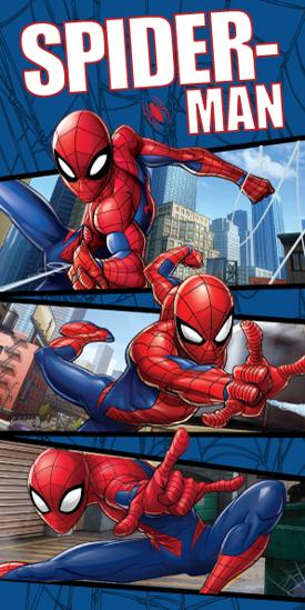 Obrázek z Osuška Spiderman Blue 02 70x140 cm