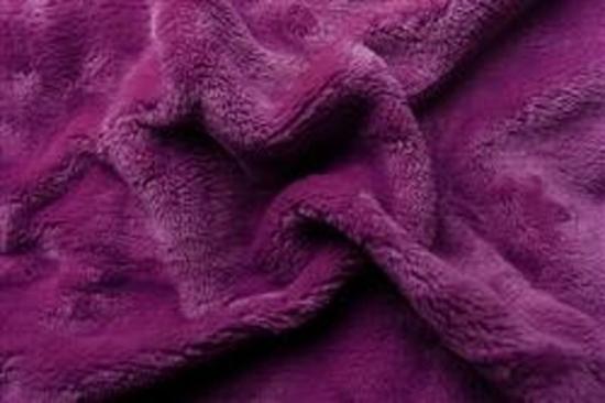 Obrázek z Prostěradlo mikroflanel tmavě fialová