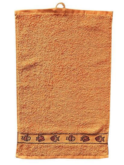 Obrázek z Dětský ručník Kids 30x50 cm orange