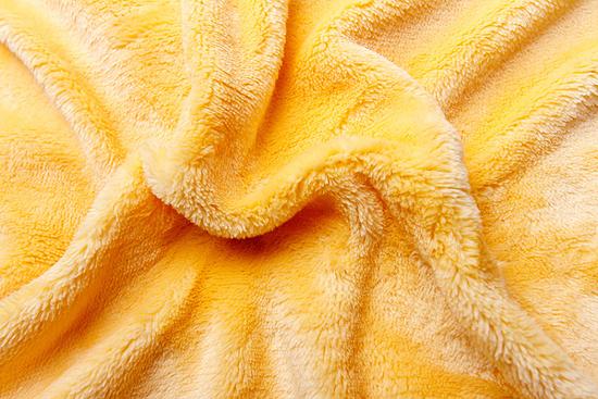 Obrázek z Prostěradlo mikroflanel žluté 180x200x20 cm