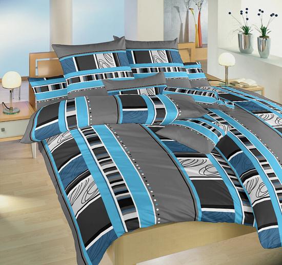 Obrázek z Povlečení krep Rodeo modré 40x50 cm povlak