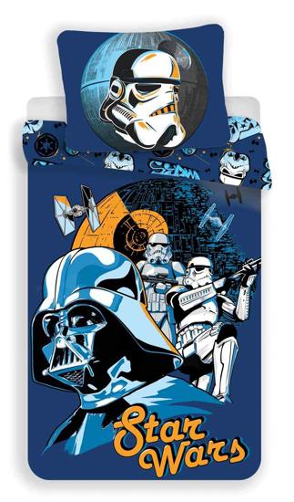 Obrázek z Povlečení bavlna Star Wars blue 140x200, 70x90 cm