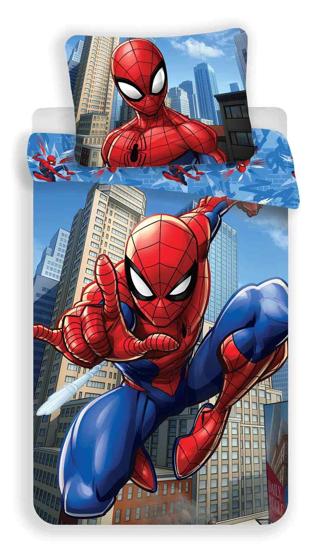 Obrázek z Povlečení Spiderman blue 02 140x200, 70x90 cm