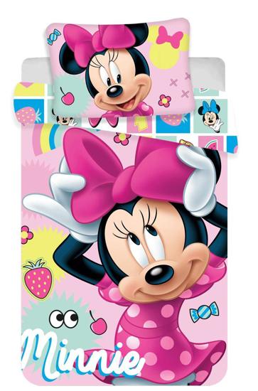 Obrázek z Disney povlečení do postýlky Minnie sweet 072 baby 100x135, 40x60 cm