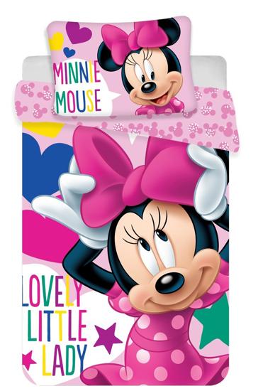 Obrázek z Disney povlečení do postýlky Minnie baby 100x135, 40x60 cm