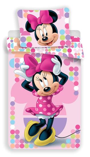 Obrázek z Povlečení Minnie pink 03 140x200, 70x90 cm