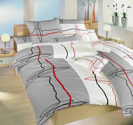 Obrázek z Povlečení bavlna Provázky 220x200 cm povlak