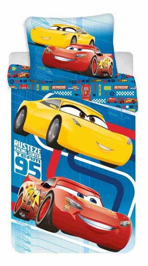Obrázek z Povlečení Cars blue 02 140x200, 70x90 cm