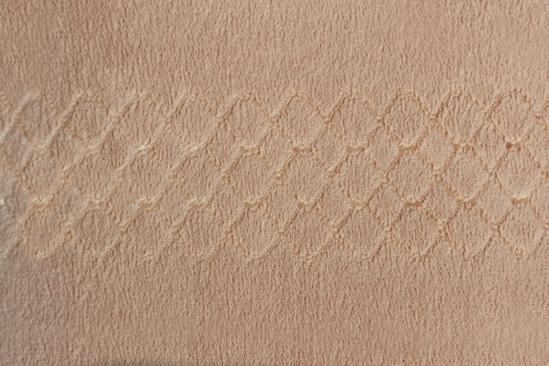 Obrázek z Povlečení mikrovlákno čokoládová lesklý pruh 140x200, 70x90 cm