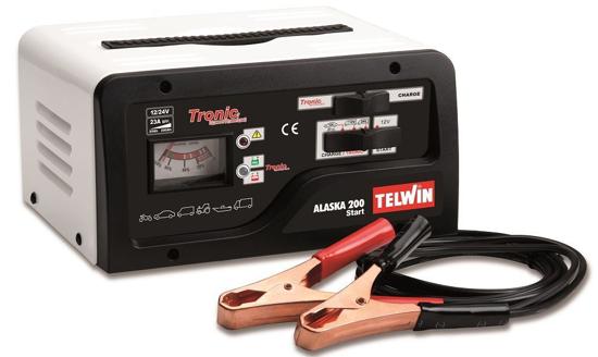 Obrázek z Automatická nabíječka s podporou startu Alaska 200 Telwin