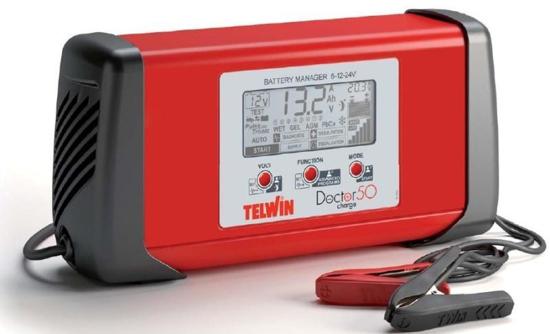 Obrázek z Microprocesorová automatická nabíječka Doctor Charge 50 Telwin