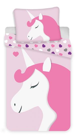 Obrázek z Povlečení Unicorn heart 140x200, 70x90 cm