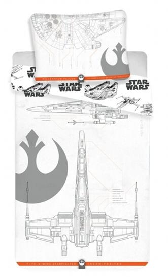 Obrázek z Povlečení bavlna Star Wars 9 vehicles 140x200, 70x90 cm
