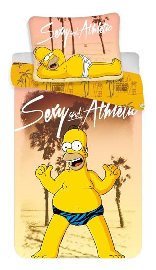 Obrázek z Povlečení Simpsons Homer beach 140x200, 70x90 cm