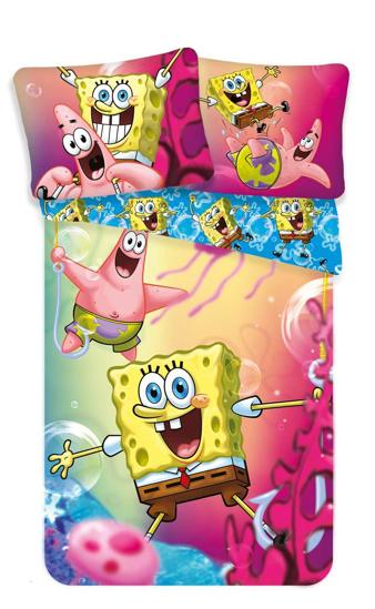 Obrázek z Povlečení Sponge Bob blue 140x200, 70x90 cm