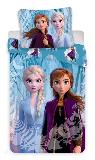 Obrázek z Povlečení Frozen 2 snowflakes 140x200, 70x90 cm