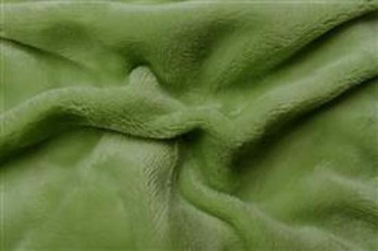 Obrázek z Prostěradlo mikroflanel kiwi (zelená)