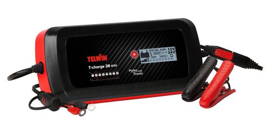 Obrázek z Microprocesorová nabíječka autobaterií T-Charge 26 EVO Telwin