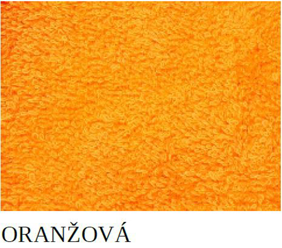 Obrázek z Ručník Sofie oranžová 30x50 cm