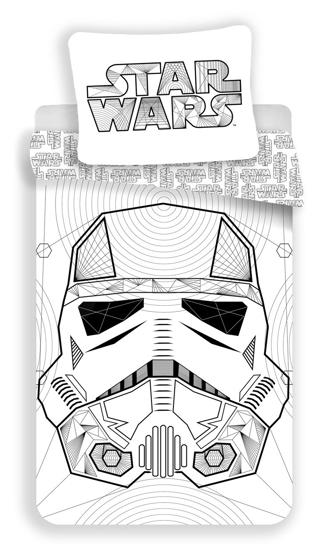 Obrázek z Povlečení bavlna Star Wars White 140x200, 70x90 cm
