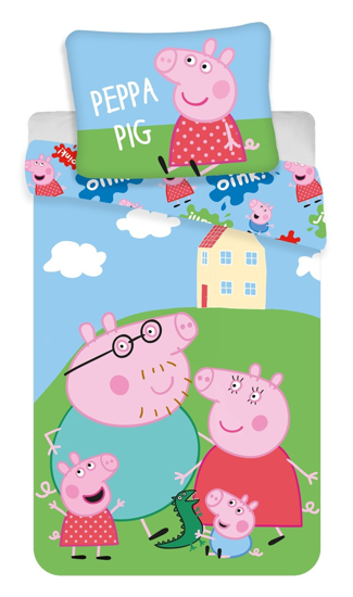 Obrázek z Povlečení Peppa Pig 037 140x200, 70x90 cm